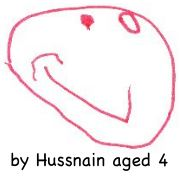 Angela by Hussnain aged 4