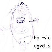 Rachel by Evie aged 3