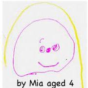 Tina by Mia aged 4